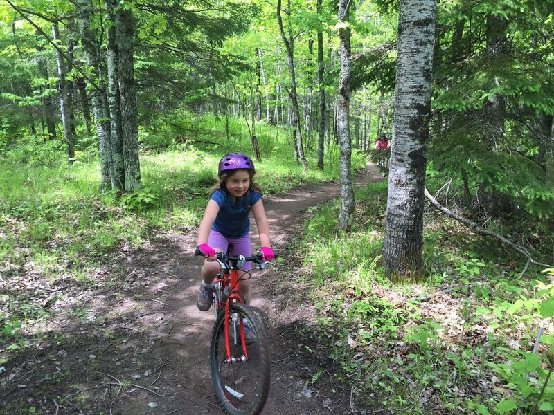 Upper Cathedral is a super fun, family friendly trail. Great ride for the kids and grown ups alike!