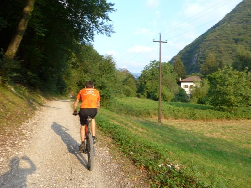 In the Ledro-Valley