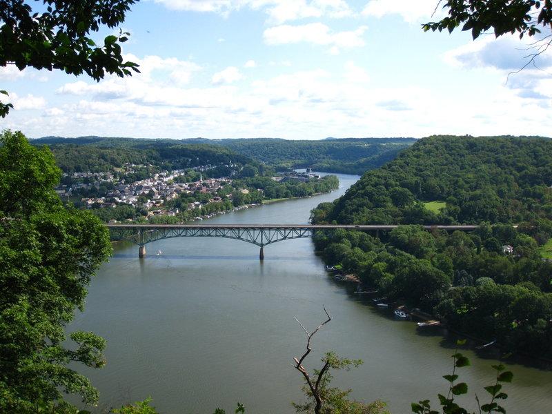 Allegheny River overlook