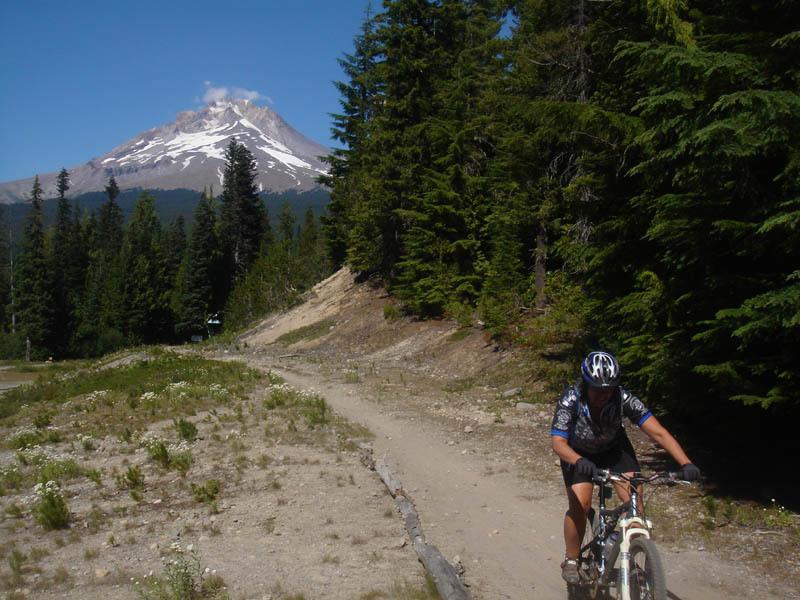 Riding the Optimator Trail - photo by Jim Jonke
