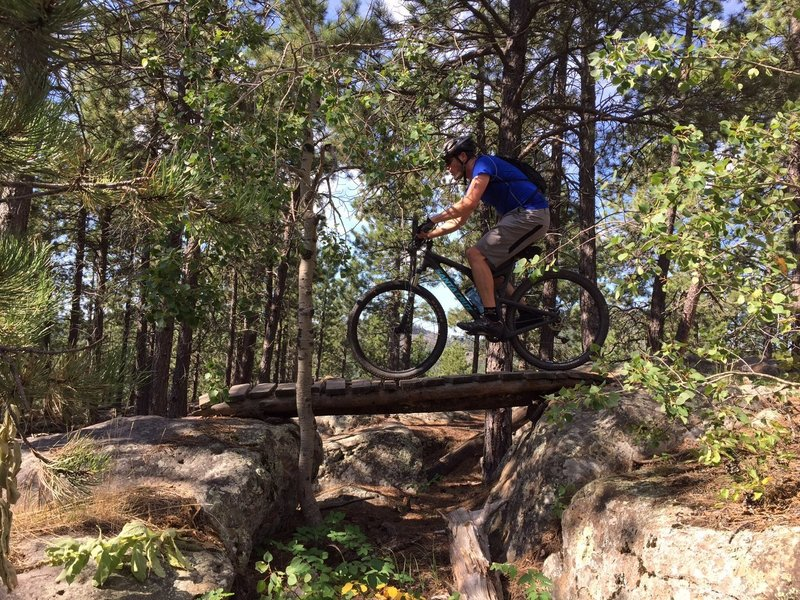Mountain Bike Trails near Black Hills National Forest