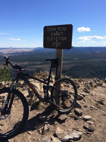 Crow Peak Summit