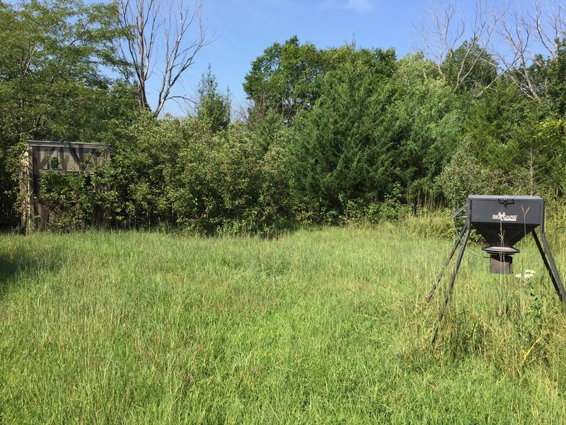 Wildlife viewing blind...watch deer, etc