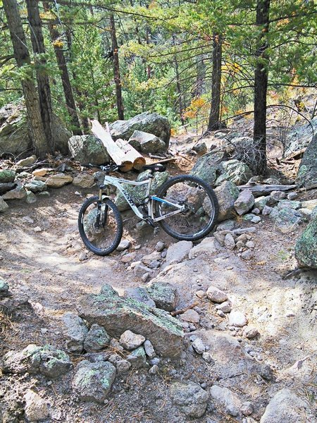 """Volcanic """"tuff"""" can be loose in more technical sections"""