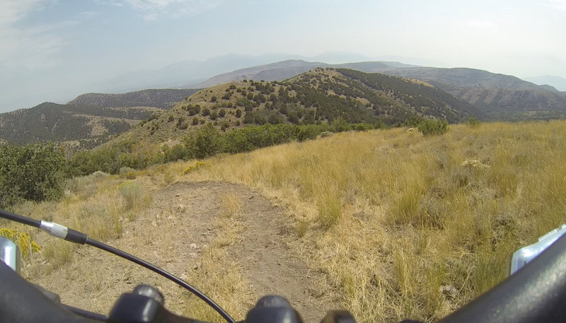 Connection Trail to Saddle ride