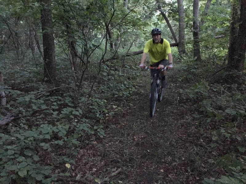 This is a great trail, wish it was longer.