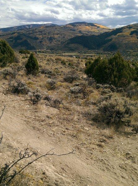 Views of Arrowhead and Beaver Creek ski areas