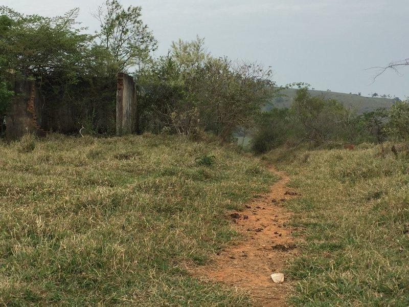 Start of Barrinho's trail