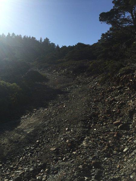 Steep Rocky Climb