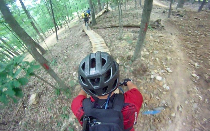 Raised Trail Tech feature