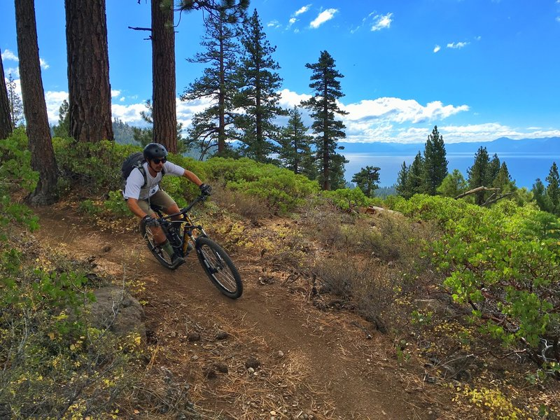 Alex J Baker photo from the Rise and Shine Downhill.