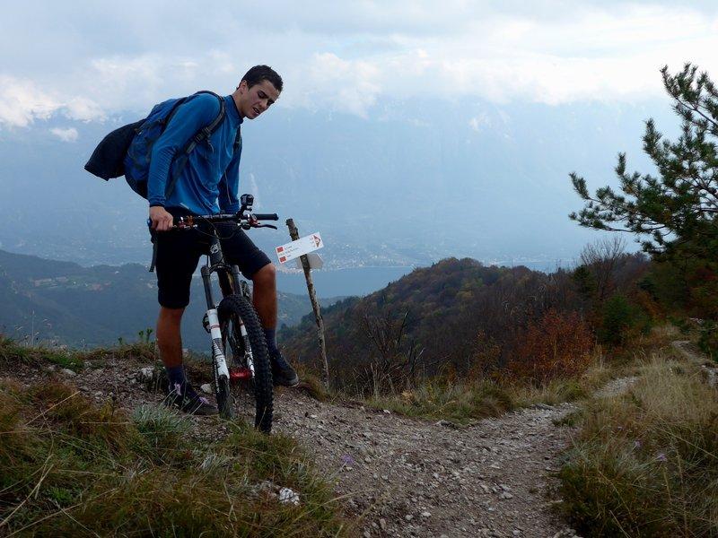 View to Lago di Garda.