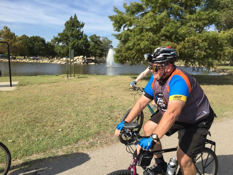 Nice ride around the lake