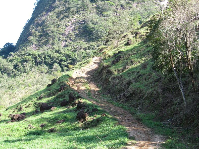 The best drops are in this part of the descent!<br> Melhores drops estão nesta parte da descida