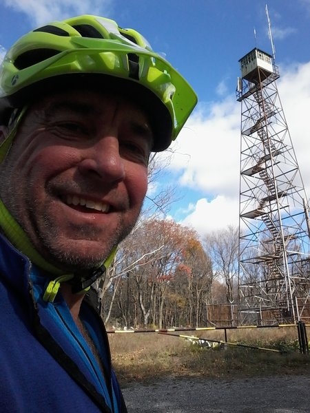 Abandoned Fire Tower at Port Clinton.