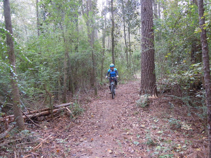 A great trail for family fun! Ideal for entry level riders and hard-tail mountain bikes.