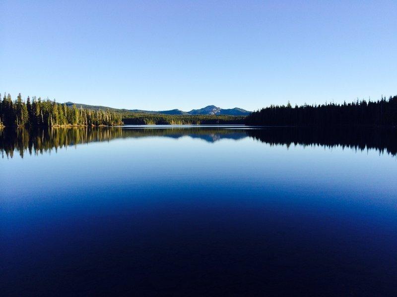 Summit Lake view.
