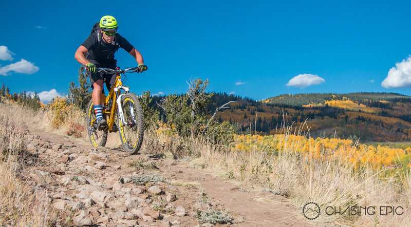 Kenosha Pass (East) in the fall... such an incredible ride.