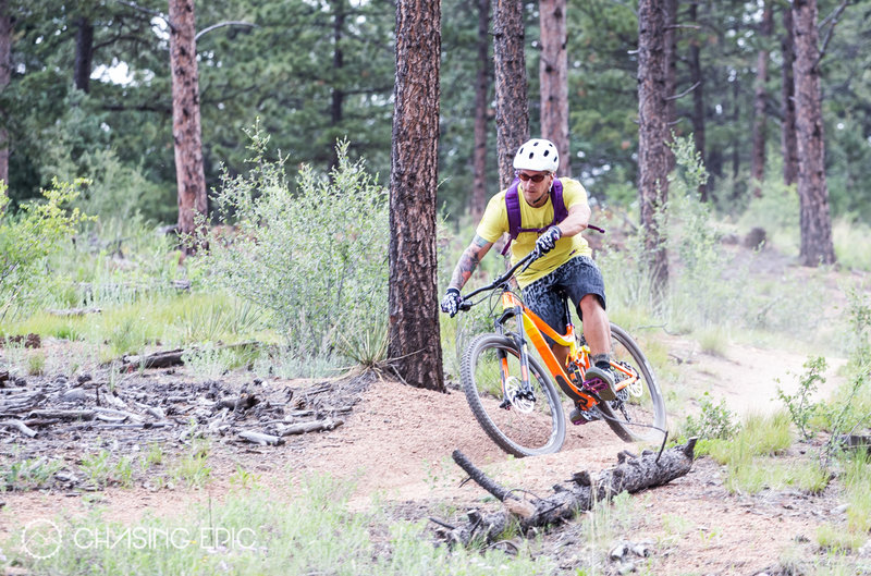 Late spring is the best time to ride the Colorado Trail in Buffalo Creek... the trail does better with rain.