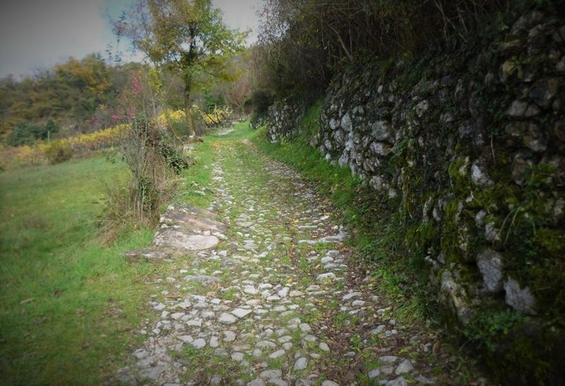 The old way up to Calvola.