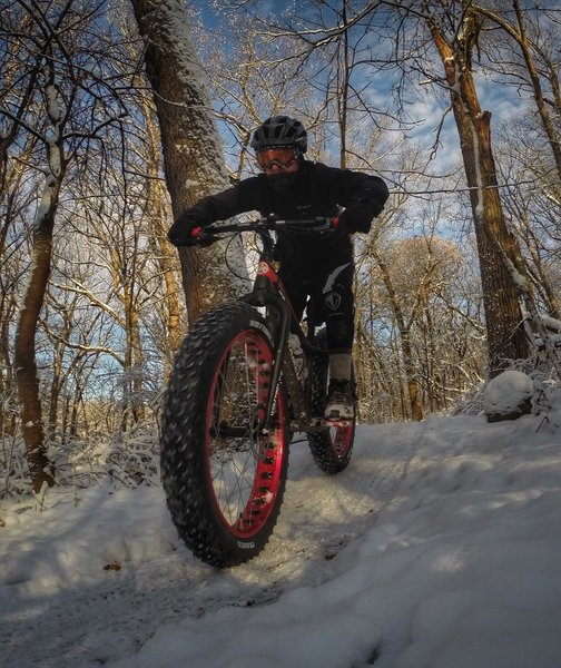 Winter is still a great time to jump around on the Bullwhip Trail.