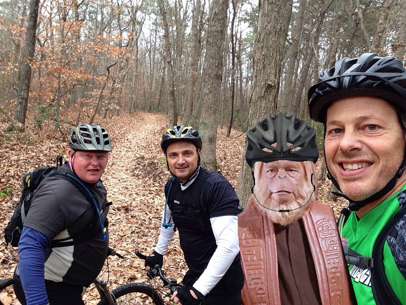 Riding CCC with Dr. Zaius, Schultzie and Holio!