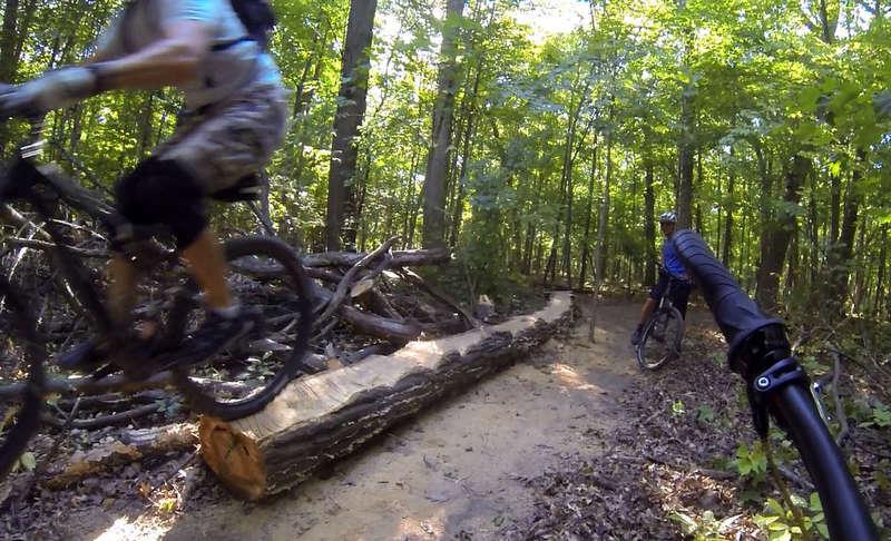 Skills Log Ride