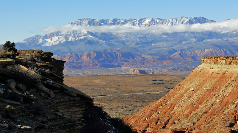 Mother Nature in all her red-rock majesty!