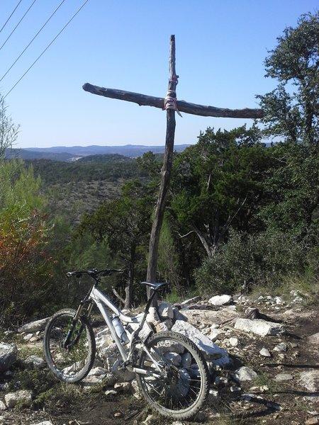 Atop Mount Lakeway along the Lakeway Trails.