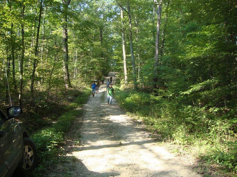 Gravel Road Section of Miller Ridge.