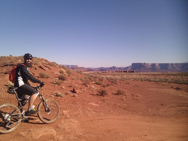 Day 1 of the White Rim Trail ride, starting out on the Jug Handle Loop.