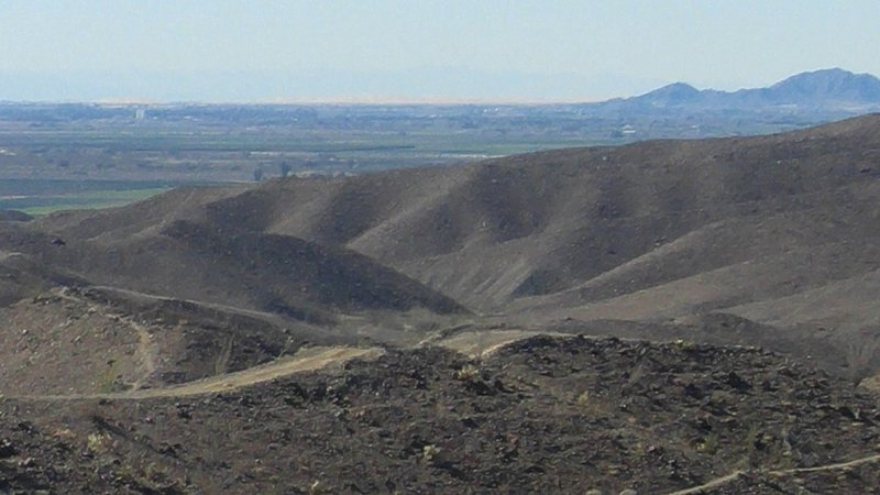 Imperial Sand Dunes in the distance.