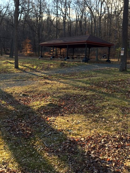 The Gravity Trail meanders through 3 City Parks, including Egelman Park, Mineral Spring Park and Pendora Park. This gazebo is one of two located in Egelman Park and can be rented from the Reading Recreation for events.