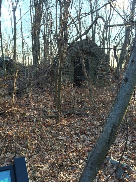 """Kuechler's Roost"" is an old wine cellar built by Jacob Kuechler in 1882 for his personal wine making. Details can be found at the Historical Society of Berks County."
