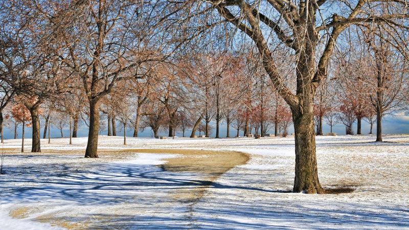 Uptown Chicago Park.