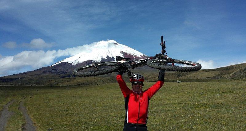 Trail at Cotopaxi volcano, Ecuador