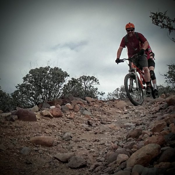 Boulders and gravel