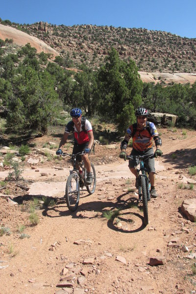 Red Canyon with Paul and JB