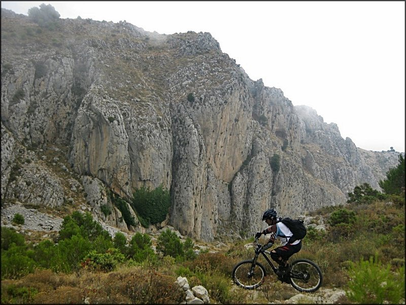 The first section of the Barranc Negre Trail.