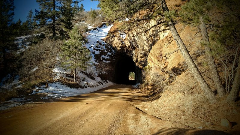 Gold Camp Road tunnel #1.