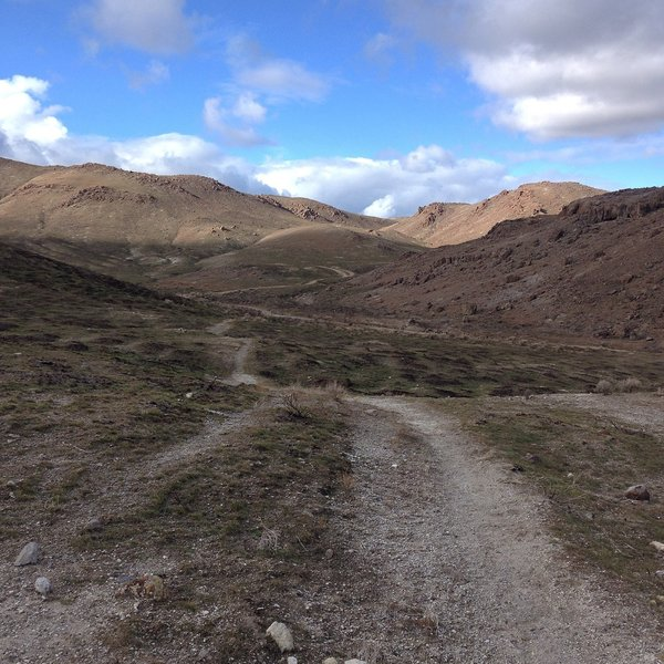 Look at the trails of Wilson Creek. Some of the best dirt around Idaho!