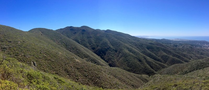 View from North Peak Access Road.