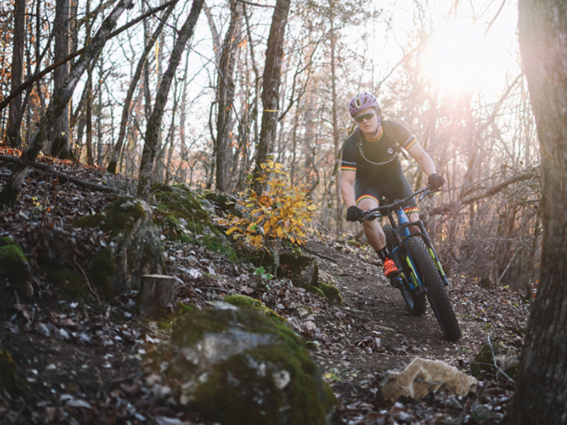 Rider on 57 South Oak. Photo taken by Jeff Rose
