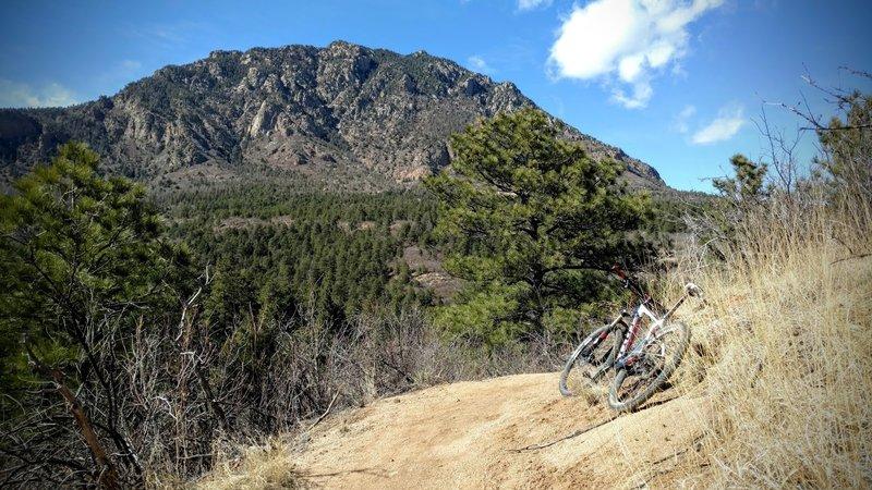Descending Talon trail.