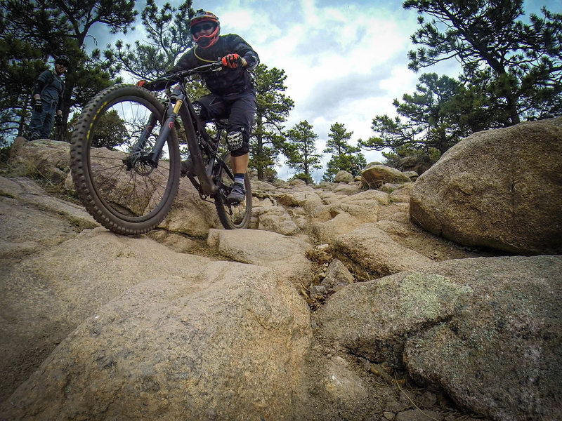 One of the most technically challenging trails in Colorado, and loads of fun both up and down!