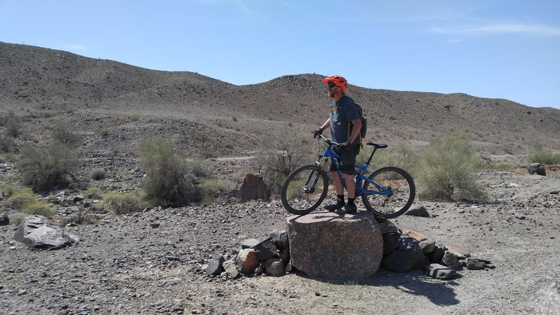 """Sessioning on """"The Rock"""" on Ryan. Half way there!"""