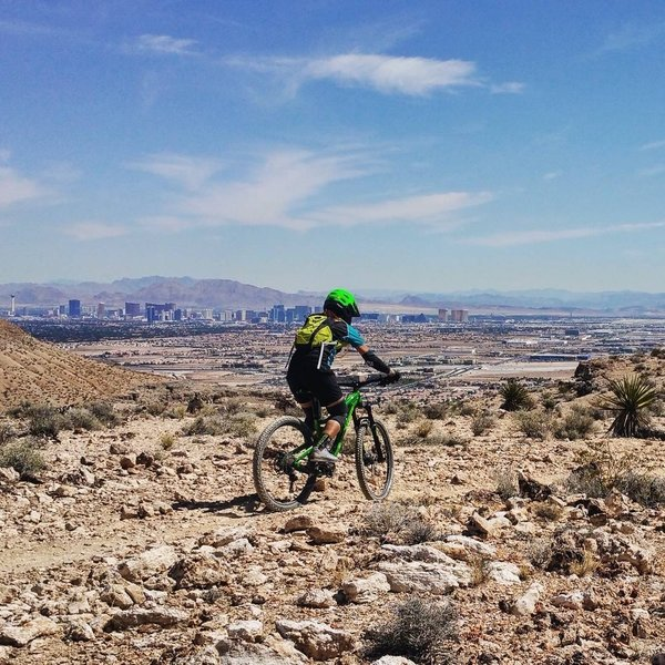 Thank you trail builders for this wonderful trail overlooking Las Vegas and The Strip. Fun doesn't always have to be in the Casinos when in Vegas!
