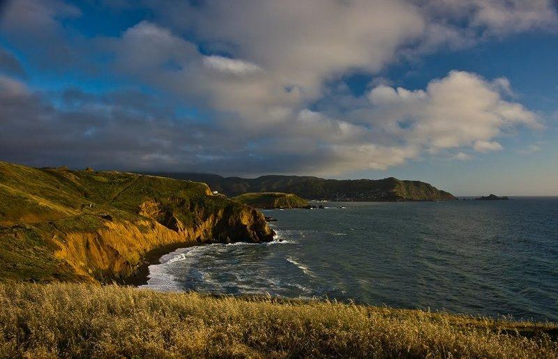 Coastline views.