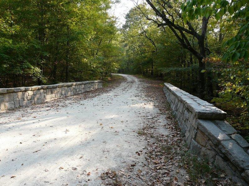 Bridge over Sycamore Creek.