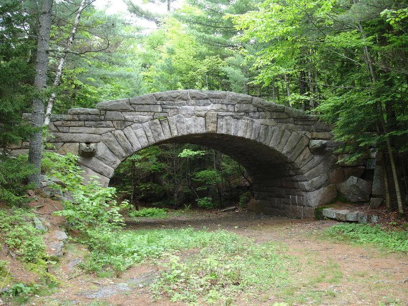Carriage Road bridge, Acadia National Park.